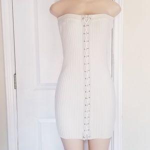 NWT Rehab ribbed tube dress in Medium!